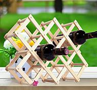 Portabottiglie da vino Legno,44*43*31CM Vino Accessori