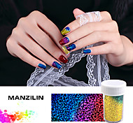 The Stars With Seven Color Laser Transfer Decals Bottled 4cm*120cm Nail Stickers
