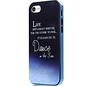 Para Funda iPhone 7 / Funda iPhone 7 Plus Antigolpes / Diseños Funda Cubierta Trasera Funda Palabra / Frase Suave TPU AppleiPhone 7 Plus
