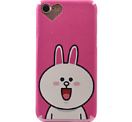 For  iPhone 7 7 Plus Case Cover Cute Rabbit Pattern TPU Material Thickening Silk Grain