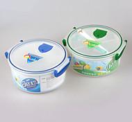 BPA comida grátis grau microondas tigela almoço forno com divisor
