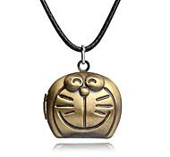 Necklace Non Stone Pendant Necklaces / Lockets Necklaces Jewelry Party / Daily Unique Design Cat Doraemon