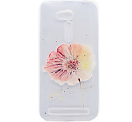 A Flower Pattern High Permeability TPU Material Phone Shell For ASUS ZB551KL ZB452KG