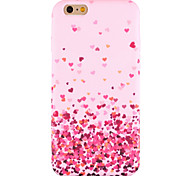 For iPhone 6 Case / iPhone 6 Plus Case / iPhone 5 Case Pattern Case Back Cover Case Heart Soft Silicone AppleiPhone 6s Plus/6 Plus /