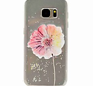 For Samsung Galaxy S7 edge S7 Flowers TPU Phone Case S5 Mini S5