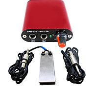 Solong tattoo Mini tattoo power supply with Foot Pedal Clip Cord for machine  kit P162-2
