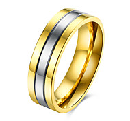 Ring Jewelry Steel Gold Jewelry Casual 1pc