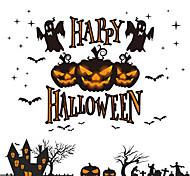 1PC Halloween Stores  Adornment  Window Stickers Electrostatic Sticke