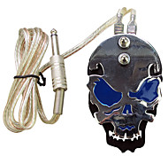 Solong Tattoo Professional Skull Stainless Steel Tattoo foot switch/pedal for Power Supply  P219-4