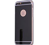 Для Кейс для iPhone 7 / Кейс для iPhone 6 / Кейс для iPhone 5 Покрытие / Зеркальная поверхность Кейс для Задняя крышка Кейс для Один цвет