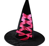 1шт Хэллоуин зачарователь шляпа женская ведьма шлема костюма партии