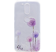 Dandelion Pattern High Permeability TPU Material Phone Shell For Motorola G4 Plus