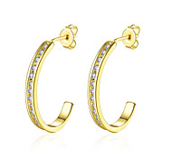 lureme Fine Jewelry 18K Gold Fashion Charms Diamond Earrings