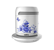 RICHSO Wireless Charging Tea CUP HIFI Super Bass Bluetooth Speaker with Stereo FM AUX Built in Mic / USB / TF