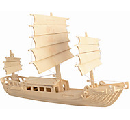 CHina Sailing Wooden Simulation/Stereo DIY Assembly Model Educational Toys