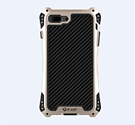 Per Custodia iPhone 7 / Custodia iPhone 7 Plus Resistente agli urti Custodia Integrale Custodia Armaturato Resistente Metallo AppleiPhone