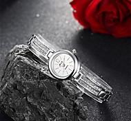 Women's Dress Watch Fashion Watch Bracelet Watch Quartz Water Resistant Water Proof Alloy Band Charm Casual Silver Brand