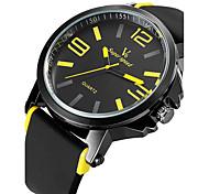 V6 Мужской Спортивные часы Армейские часы Нарядные часы Модные часы Наручные часы Защита от влаги Кварцевый Японский кварц силиконовый