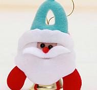 Presentes do Natal em decorações de Natal padrão de árvore de natal é aleatória