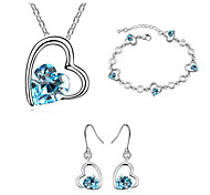 Thousands of colors  Jewelry Necklaces / Earrings / Bracelets & Bangles Jewelry   1set Women -9-1-672-2-499-3-10