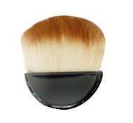 1 Blush Brush Synthetic Hair Portable Plastic Face NFSS
