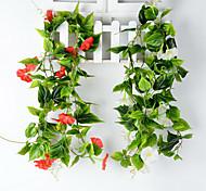 Set of 1 PCS 1 Ast Polyester Calla-Lilien Tisch-Blumen Künstliche Blumen Long 90(inch)