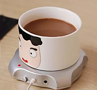 4 Port USB HUB Cup Warmer Office Coffee Tea Mug Heater Pad Mat 2.5W 5V Winter Drink Warm Computer