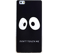 For HUAWEI P9 P8Lite Y5C Y6 Y625 Y635 5X 4X G8 Case Cover Eye Pattern TPU Material Phone Shell