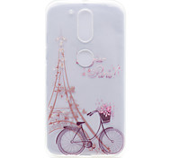 Tower Pattern High Permeability TPU Material Phone Shell For Motorola G4 Plus X1