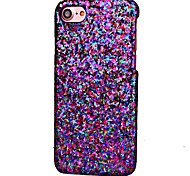 Para Funda iPhone 7 / Funda iPhone 7 Plus Diseños Funda Cubierta Trasera Funda Brillante Dura Cuero Sintético AppleiPhone 7 Plus / iPhone