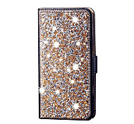 Diamond Flip Leather Case Cover Stand Card Slot Shiny Case For Samsung Galaxy J5 Galaxy Grand Prime Galaxy  Core Prim