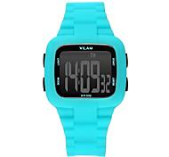 Men's Sport Watch / Wrist watch Digital Water Resistant/Water Proof / Shock Resistant / Colorful Plastic BandVintage / Cartoon / Stripe /
