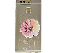 A Flower Pattern High Permeability TPU Material Phone case forHuawei P9 Lite P9 P9 Plus  P8 Lite Honor V8  Honor 8