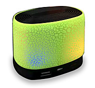 RICHSO Cracked Glare Bluetooth Speakers & LED Light with Stereo FM AUX Built in Mic / USB / TF