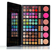 78 Eyeshadow Palette Dry Eyeshadow palette Pressed powder Normal Daily Makeup