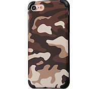 For Apple iPhone 7 7Plus 6S 6Plus Case Cover Camouflage Pattern TPU Material Soft Package Phone Case