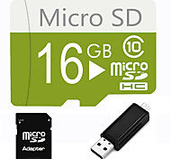 16GB  Micro SD TF Card  with SD SDHC Adapter and Multi-function OTG USB Card Reader
