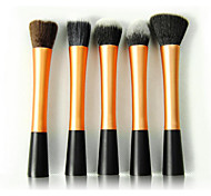 5 Contour Brush / Blush Brush / Fan Brush / Powder Brush / Foundation Brush Synthetic Hair Travel / Synthetic / Portable Face Others