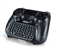 Bluetooth Mini Wireless chatpad Text-Chat-Nachricht-Game-Controller-Tastatur-Konsole für PS4-Steuerung