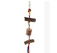 портативный дерево коричневый птица toys1pc