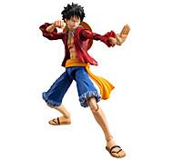 Figures Anime Action Inspiré par One Piece Monkey D. Luffy Anime Accessoires de Cosplay figure Rouge PVC
