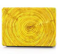 gelben Holzmuster macbook Computergehäuse für macbook air11 / 13 pro13 / 15 Pro mit retina13 / 15 macbook12