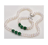 Women's Pearl Strands Pearl Basic Jewelry Wedding Party 1pc