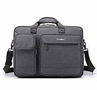 17.3 pulgadas bolso de mano del bolso de hombro del ordenador portátil de múltiples compartimentos para el dell / hp / Sony / acer /