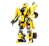 Action Figures & Stuffed Animals / Building Blocks For Gift  Building Blocks Model & Building Toy Warrior / Car / Robot ABS5 to 7 Years /