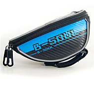Bike BagBike Handlebar Bag Reflective Strip Waterproof Phone/Iphone Multifunctional Touch Screen Bicycle Bag Cycle Bag Cycling/Bike