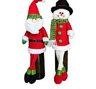 2 набор мило свитер красного вина крышка бутылки сумки Санта-Клауса обеденный стол украшения одежды с головных уборов домашней вечеринке