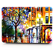Street Painting Pattern MacBook Computer Case For MacBook Air11/13 Pro13/15 Pro with Retina13/15 MacBook12