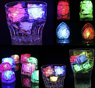 6Pcs Flash Induction Light Colorful Hearts Of Ice