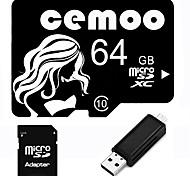 Other 64GB MicroSD Clase 10 20 Other Múltiple en un lector de tarjetas / lector de tarjetas micro sd / lector de tarjetas SD CEBY02USB